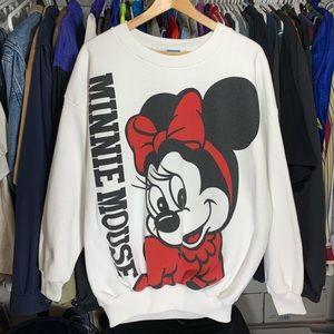 Vintage 90's Disney's Minnie Mouse crewneck size L